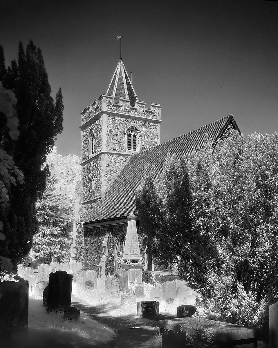 Great Amwell Church, Herts IR - Paul Damen